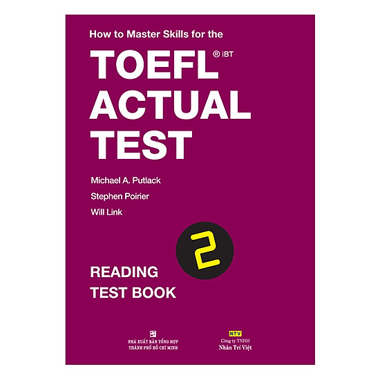 [Download sách] How To Master Skills For The TOEFL iBT Actual Test: Reading Test Book 2