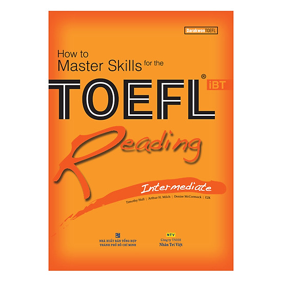 [Download sách] How To Master Skills For The TOEFL iBT: Reading Intermediate