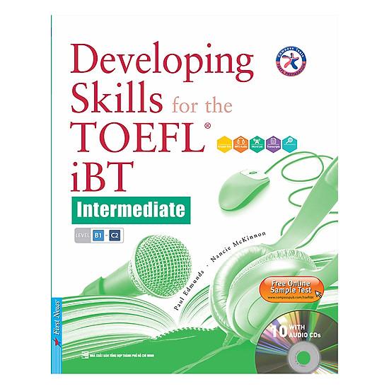 [Download sách] Developing Skills For The Toefl IBT (Kèm 10 CD) - Tái Bản