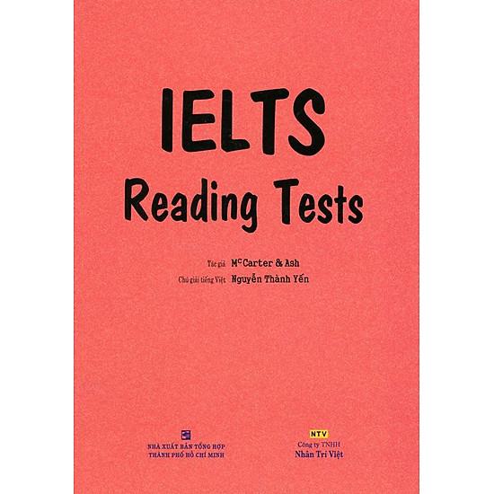IELTS Reading Test (Không CD) (Tái Bản 2017)