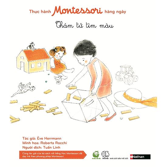 Thực Hành Montessori Hàng Ngày – Thám Tử Tìm Màu