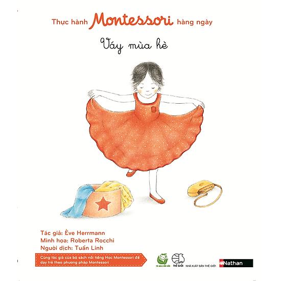 Thực Hành Montessori Hàng Ngày – Váy Mùa Hè