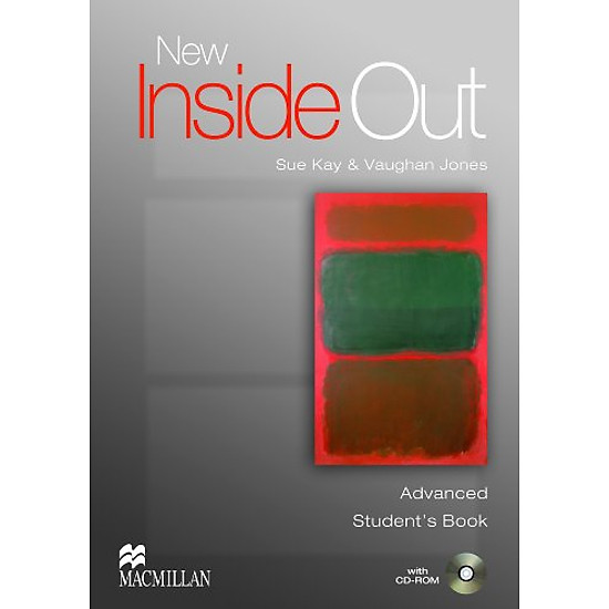 [Download sách] New Inside Out Advanced: Student Book with CD-ROM