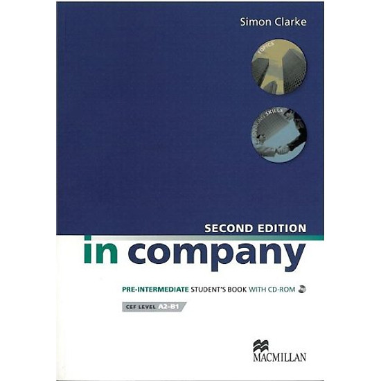 [Download sách] In Company Pre-intermediate: Student Book + CD-ROM Pack