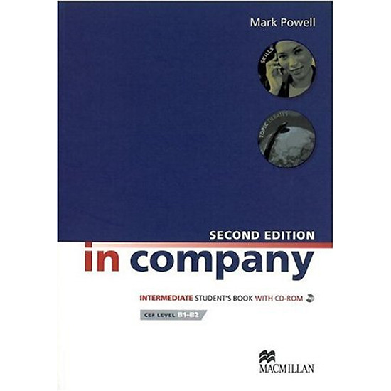 [Download sách] In Company Intermediate: Student Book + CD-ROM Pack
