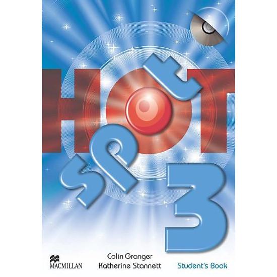 [Download sách] Hot Spot 3: Student's Book + CD-ROM (Hotspot)