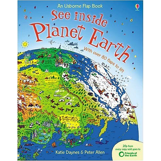 See Inside Planet Earth: An Usborne Flap Book (See Inside Board Book Series)