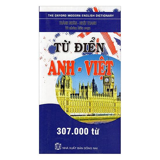 [Download sách] Từ Điển Anh - Việt 307.000 Từ