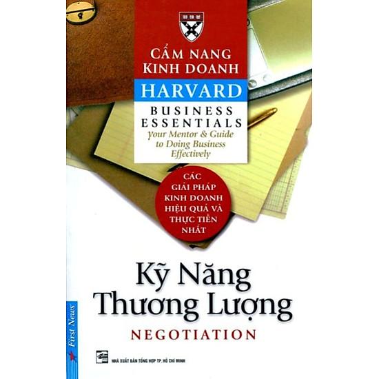 Cẩm Nang Kinh Doanh – Kỹ Năng Thương Lượng (Tái Bản)