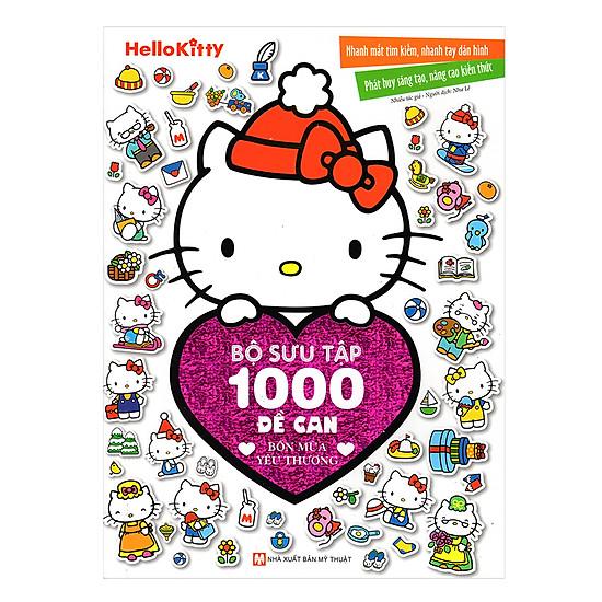 [Download Sách] Hello Kitty - Bộ Sưu Tập 1000 Đề Can - Bốn Mùa Yêu Thương