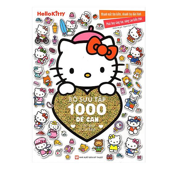 [Download Sách] Hello Kitty - Bộ Sưu Tập 1000 Đề Can - Ước Mơ Tươi Đẹp