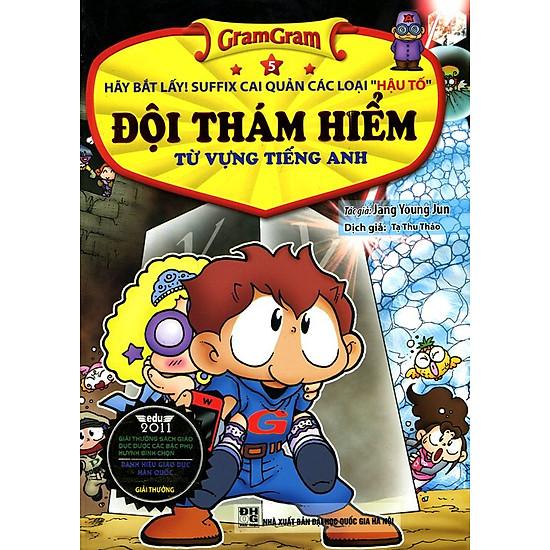 Gram Gram - Đội Thám Hiểm Từ Vựng Tiếng Anh (Tập 5)