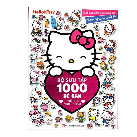 Hình ảnh download sách Hello Kitty - Bộ Sưu Tập 1000 Đề Can - Thế Giới Ngọt Ngào