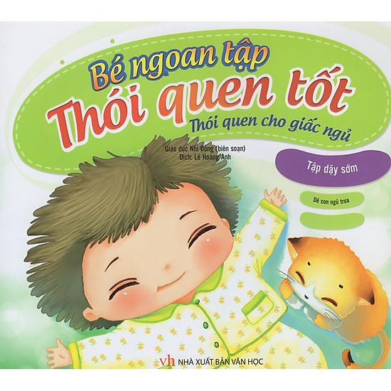 [Download Sách] Bé Ngoan Tập Thói Quen Tốt - Thói Quen Cho Giấc Ngủ