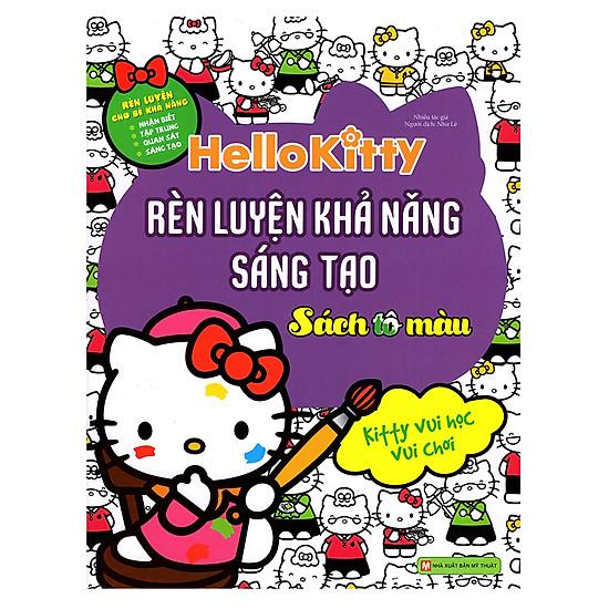 [Download Sách] Hello Kitty - Rèn Luyện Khả Năng Sáng Tạo (Tô Màu)