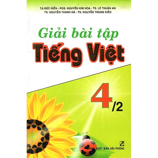 [Download Sách] Giải Bài Tập Tiếng Việt 4 - Tập 2