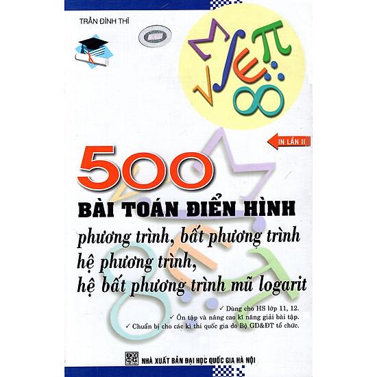500 Bài Toán Điển Hình Phương Trình – Bất Phương Trình