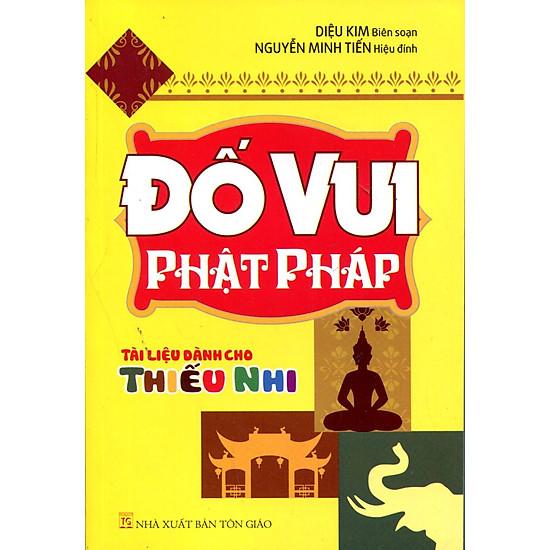 Hình ảnh download sách Đố Vui Phật Pháp