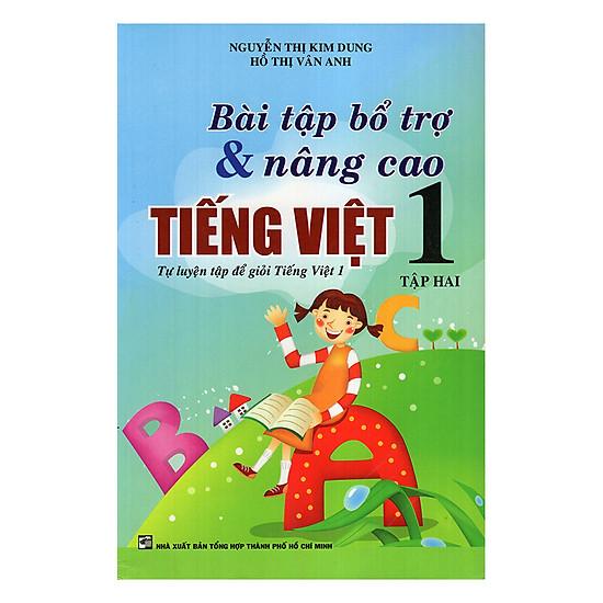 [Download Sách] Bài Tập Bổ Trợ Và Nâng Cao Tiếng Việt Lớp 1 (Tập 2)