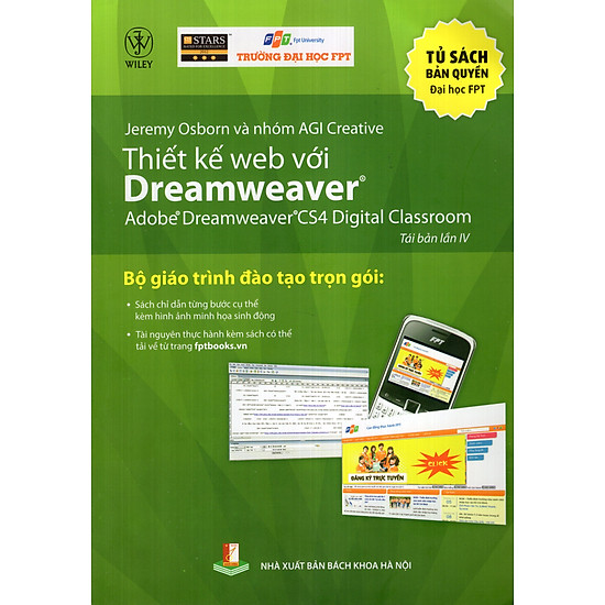 [Download sách] Thiết Kế Web Với Dreamweaver