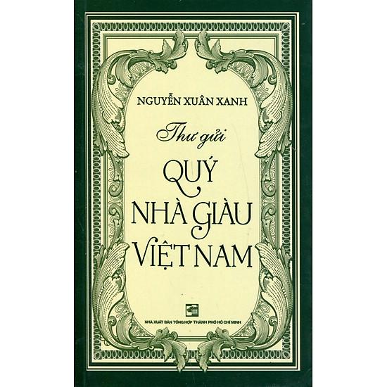 Thư Gửi Quý Nhà Giàu Việt Nam (Sách Bỏ Túi)