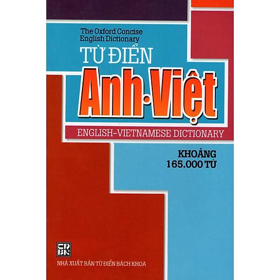 Từ Điển Anh – Việt (Khoảng 165.000 Từ – 2014) – Sách Bỏ Túi