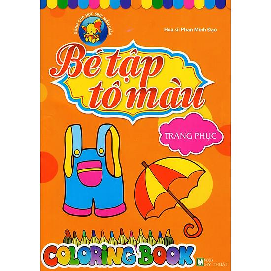 Download sách Bé Tập Tô Màu - Trang Phục