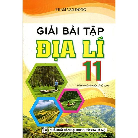 Giải Bài Tập Địa Lý Lớp 11 - EBOOK/PDF/PRC/EPUB