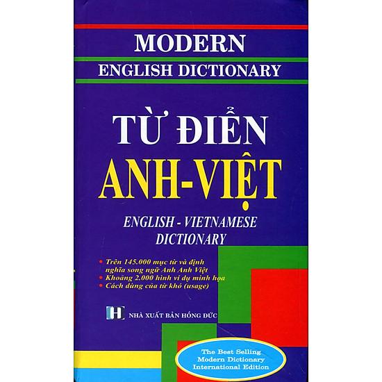 Từ Điển Anh – Việt (Trên 145.000 Mục Từ) – 2010