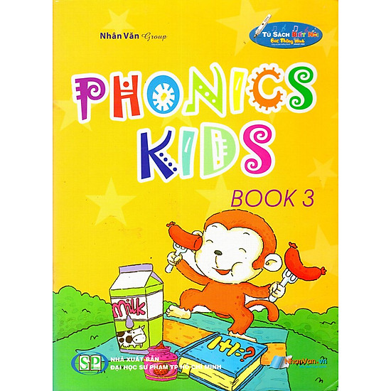 [Download sách] Phonics Kids (Book 3)