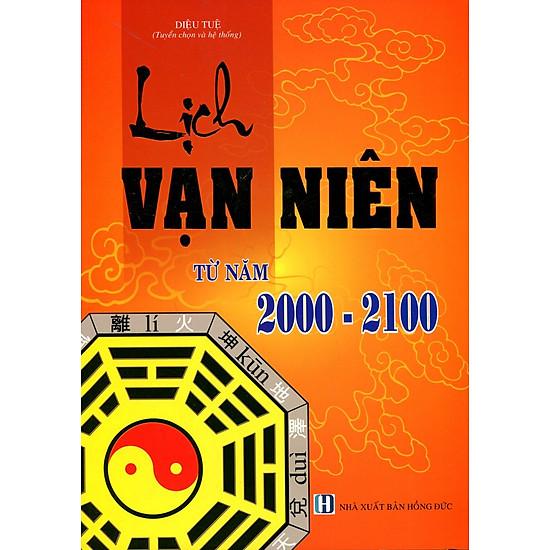 Lịch Vạn Niên Từ Năm 2000 - 2100
