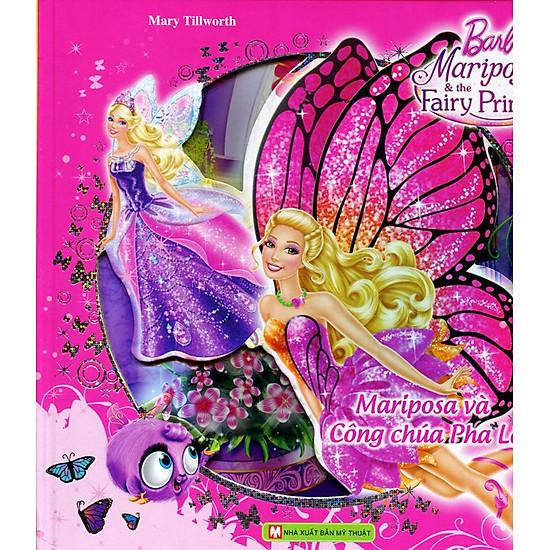 [Download Sách] Barbie And The Secret Door - Mariposa Và Công Chúa Pha Lê