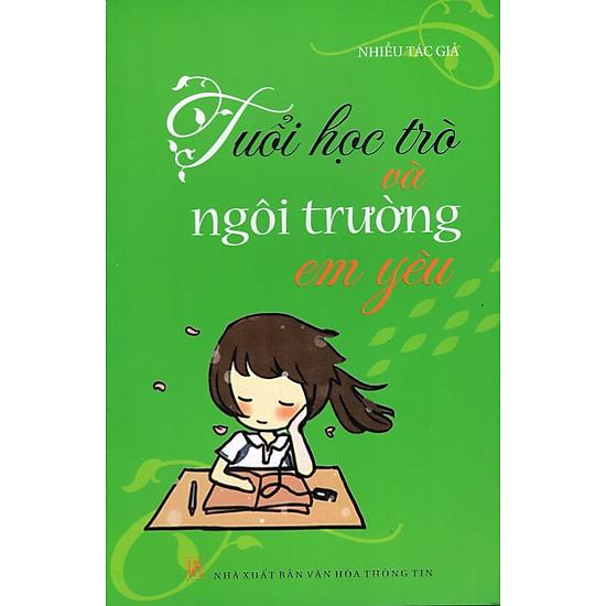 Hình ảnh download sách Tuổi Học Trò Và Ngôi Trường Em Yêu