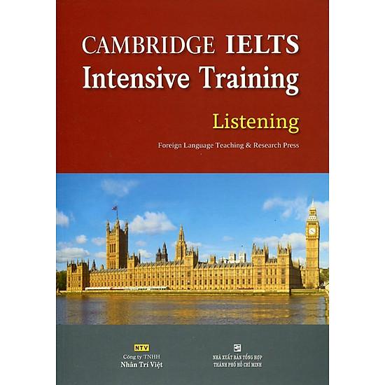 Cambridge IELTS Intensive Training Listening (Kèm CD)