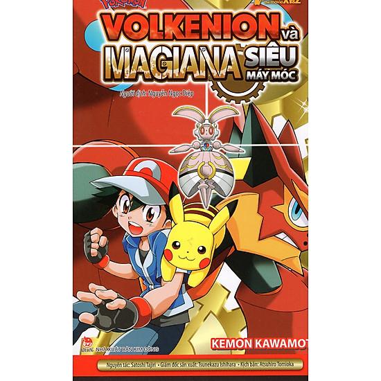 Pokémon XY&Z: Volkenion Và Magiana Siêu Máy Móc