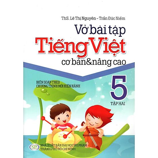 Vở Bài Tập Tiếng Việt Cơ Bản & Nâng Cao Lớp 5 (Tập 2)