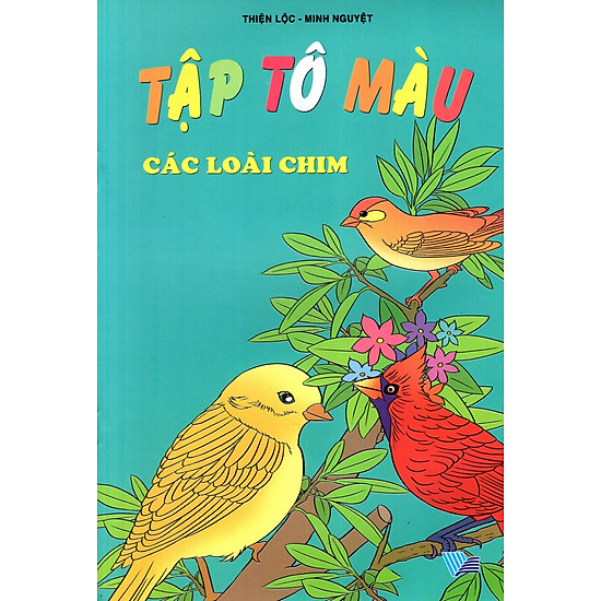 Tập Tô Màu: Các Loài Chim