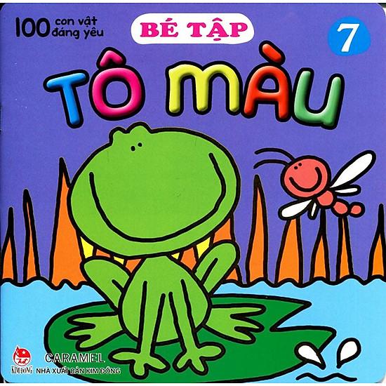 100 Con Vật Đáng Yêu – Bé Tập Tô Màu (Tập 7)