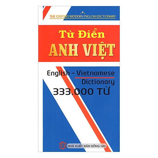 Từ Điển Anh - Việt 333.000 Từ