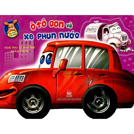 Hình ảnh download sách Vừa Học Vừa Chơi - Ô Tô Con Và Xe Phun Nước