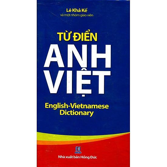 Từ Điển Anh – Việt (Minh Thắng)