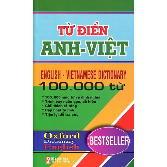 Từ Điển Anh- Việt 100.000 Từ