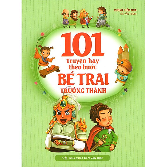 [Download Sách] 101 Truyện Hay Theo Bước Bé Trai Trưởng Thành