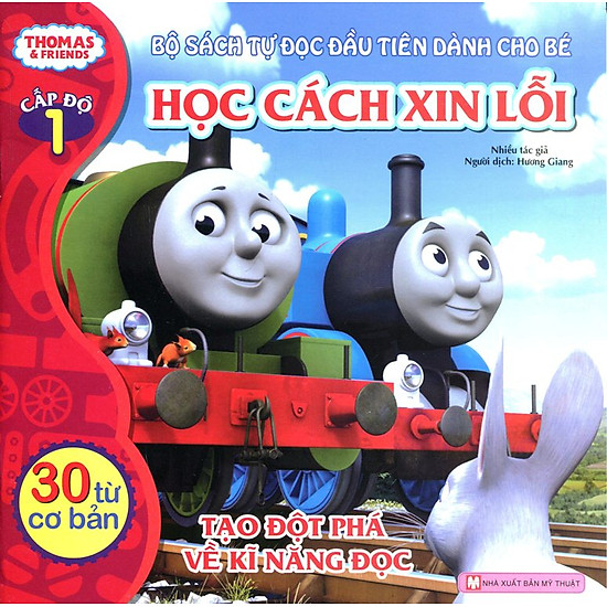 Thomas & Friends (Cấp Độ 1) - Học Cách Xin Lỗi