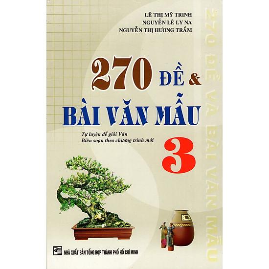 Download sách 270 Đề & Bài Văn Mẫu Lớp 3