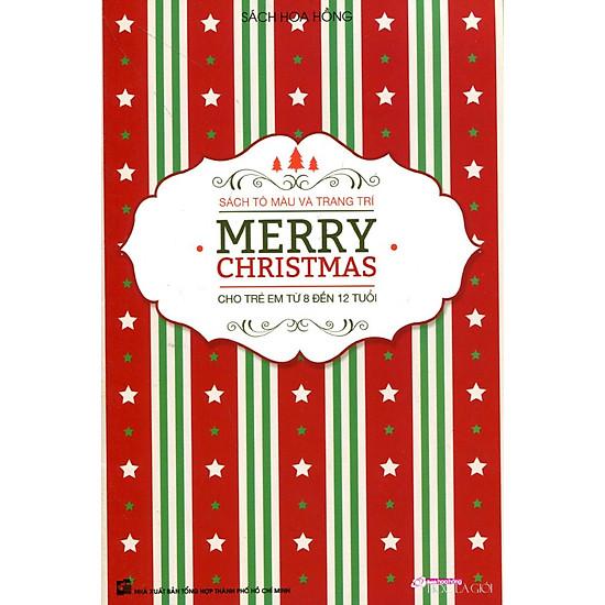 Tô Màu Và Trang Trí Merry Christmas