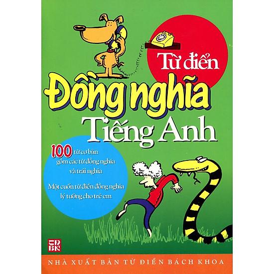 [Download Sách] Từ Điển Đồng Nghĩa Tiếng Anh