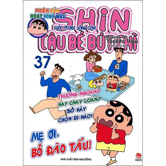 Shin - Cậu Bé Bút Chì (Hoạt Hình Màu) - Tập 37