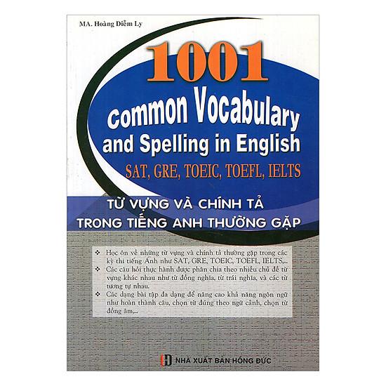 1001 Từ Vựng Và Chính Tả Trong Tiếng Anh Thường Gặp