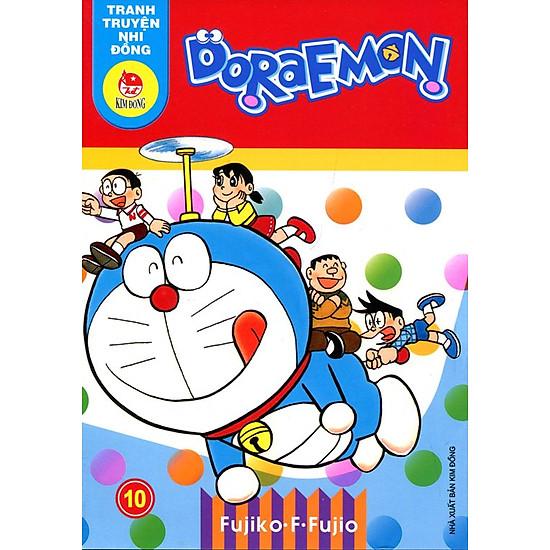 Hình ảnh download sách Truyện Tranh Nhi Đồng - Doraemon (Tập 10)